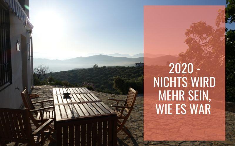 2020 – Nichts wird mehr sein, wie es war