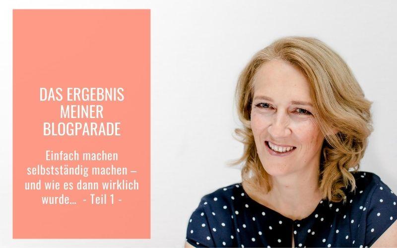 Michaela Schächner Selbstständig machen